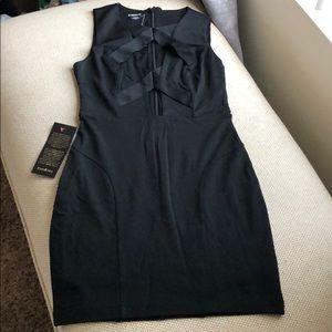 Criss Cross Front Dress